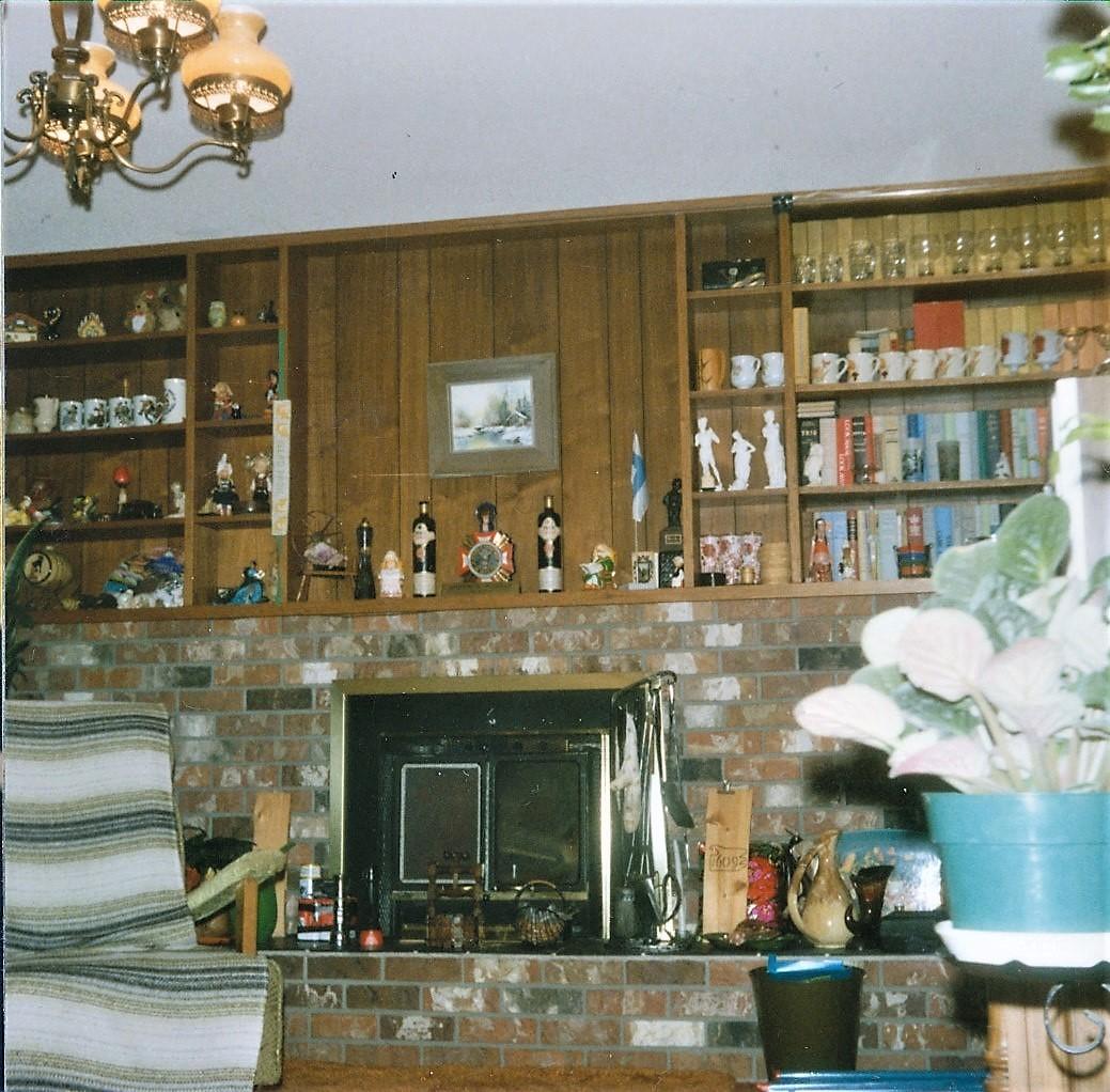 Martin ja Veran alakerran olohuone